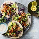 Rijkgevulde taco's met pulled jackfruit