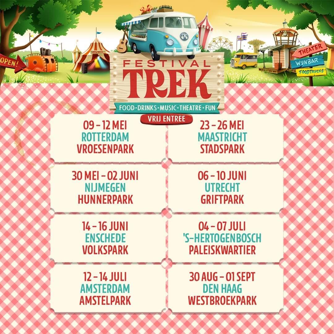 Festival TREK bezoekt Utrecht tijdens het Pinksterweekend