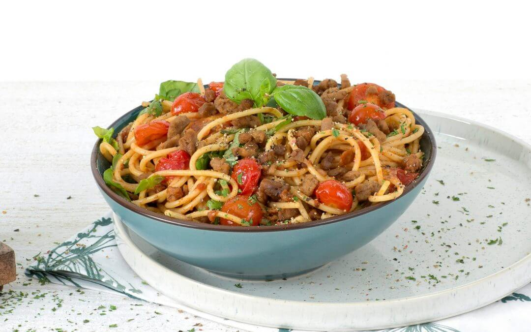 Pasta Bolognese met GoodBite rul gehakt