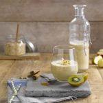 Snelle appel-kiwi-kaneel smoothie