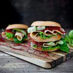 Bagel met Quorn Vegan Chicken Free Slices