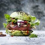 Grilled Green Incredible Burger