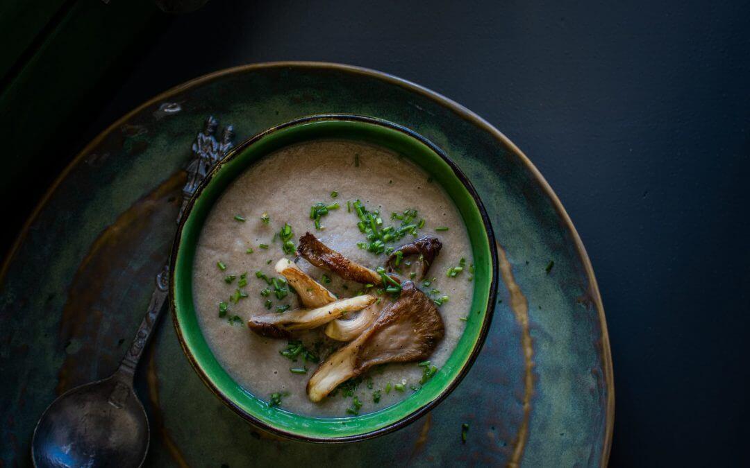 Oesterzwam soep