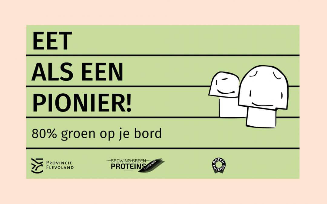 Provincie Flevoland daagt je uit: Eet als een pionier!