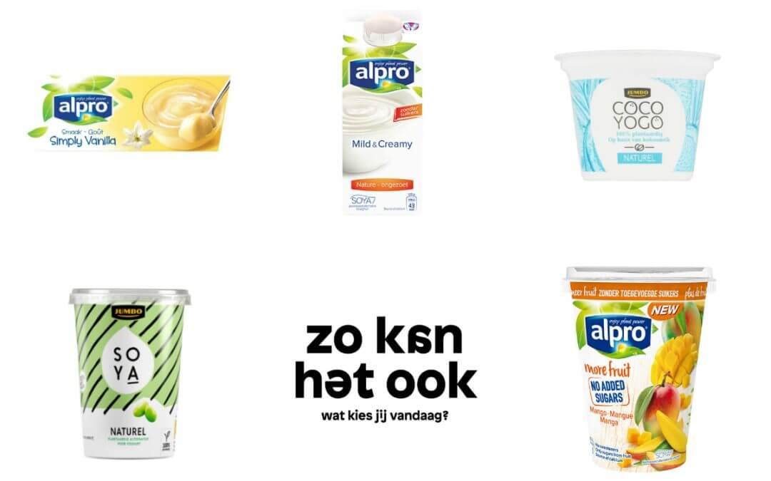 5 plantaardige variaties op yoghurt