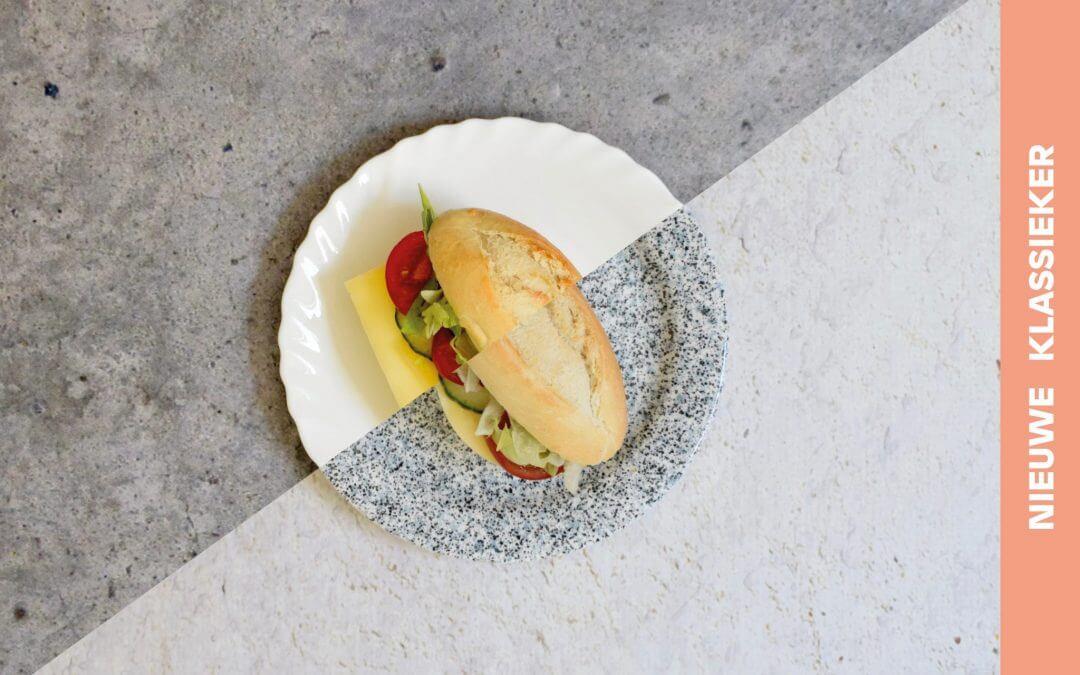 Broodje gezond met plantaardige kaas