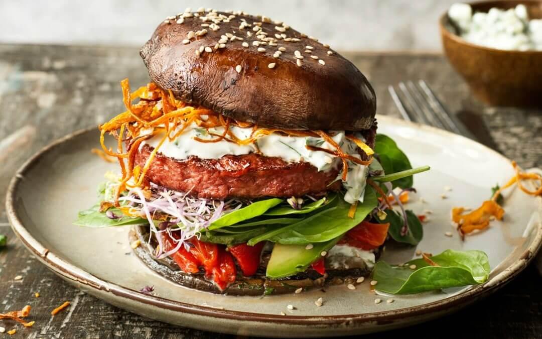 Portobello Incredible Burger