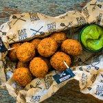 Nieuw: bitterballen op basis van zeewier