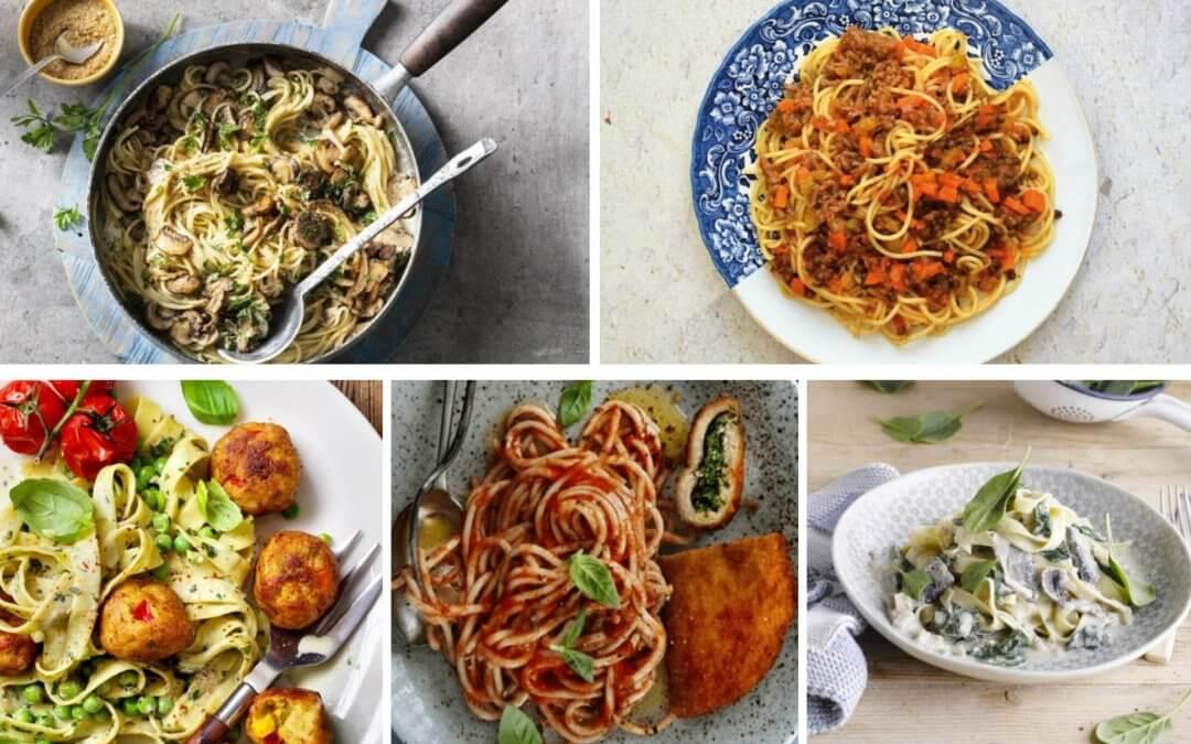 5 pasta recepten