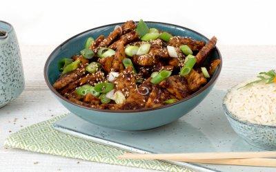 Home made tempeh goreng