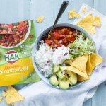 Mexicaanse groenteschotel bowl