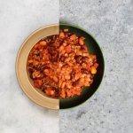 Chili sin carne met vegetarisch gehakt