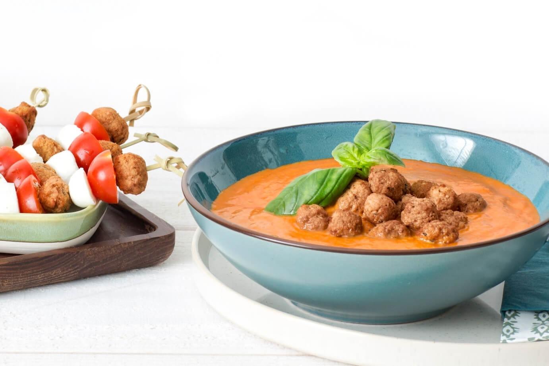 GoodBite introduceert vegetarische soepballetjes