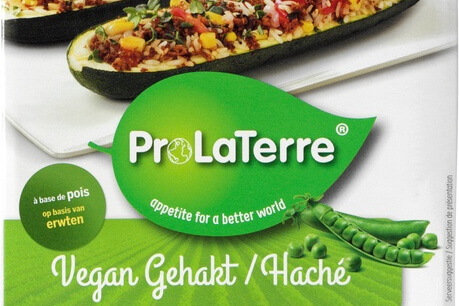 ProLaTerre maakt plantaardig gehakt van erwten