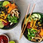 Top 5: plantaardige bowl recepten