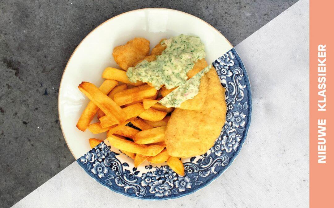 Fish & chips met ravigottesaus