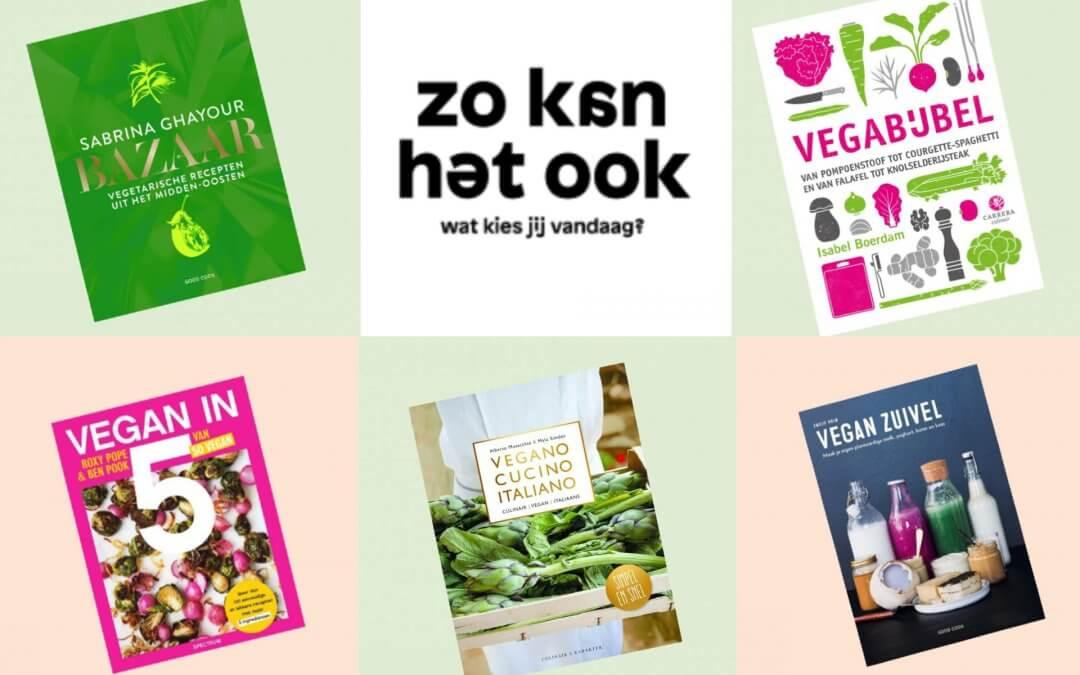 5 vega(n) kookboeken