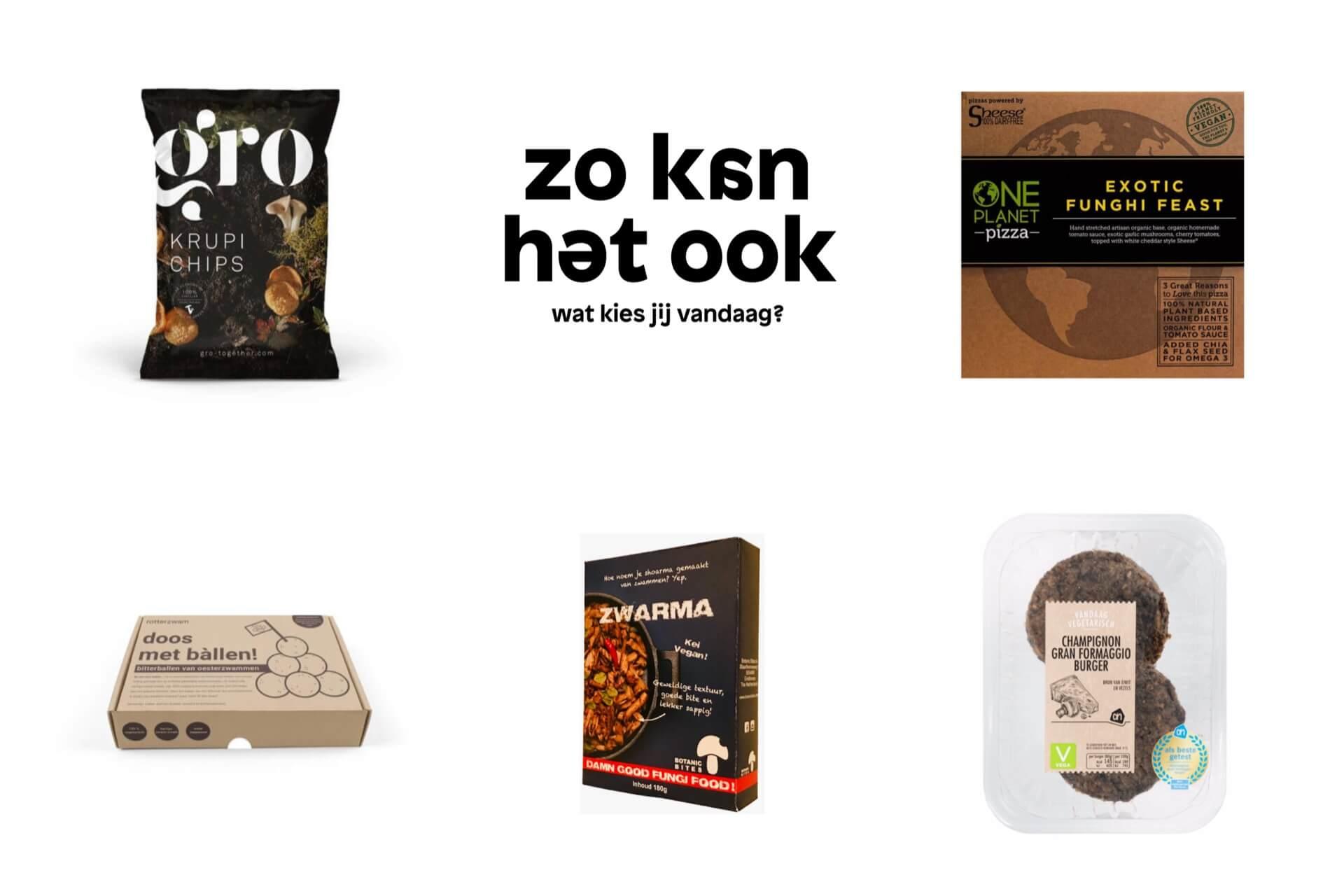 5x producten met paddenstoelen
