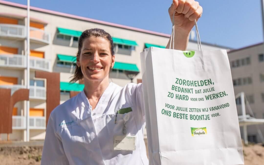 Bonduelle ontzorgt Eindhovense zorghelden