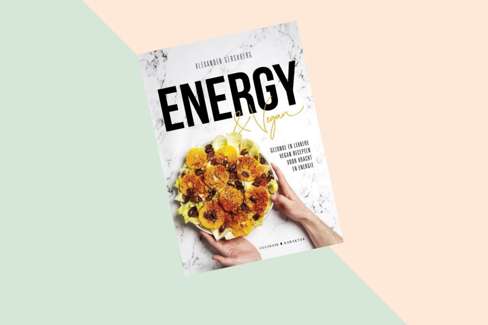 Kookboek: Energy & Vegan van Alexander Gershberg