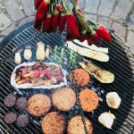 Fungi Friday BBQ Box van geredde zwammen