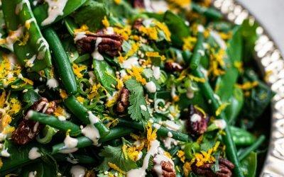 Groene bonensalade uit kookboek NOSH