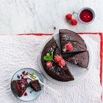 Feestdessert: Coco loco chocoladecake