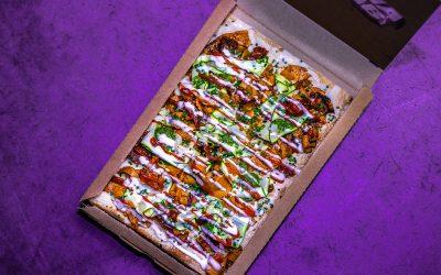 'The Guilty Pleasure' pizza kebab