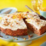 Carrot cake met dadels en noten