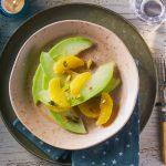Siciliaanse meloen met sinaasappel