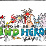 Kind Heroes: de nieuwe cartooncampagne van LIVEKINDLY Collective